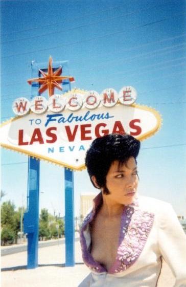 Diamondback Annie - Vegas Elvis burlesque tribute - by Chris Tonelli