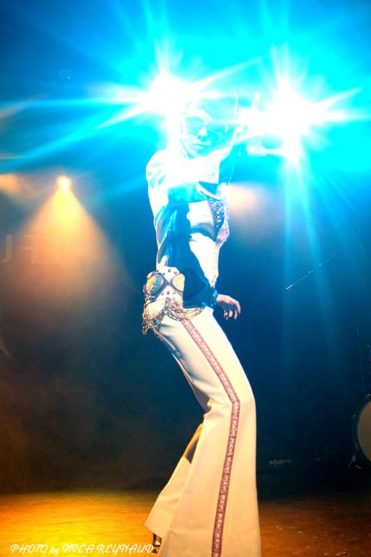 Diamondback Annie - at Rock & Roll Stripshow - by Mila Reynaud