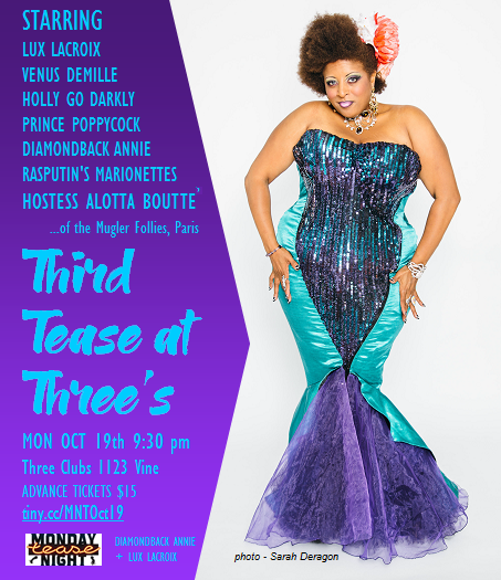 Alotta Boutte at Third Tease at Three's burlesque