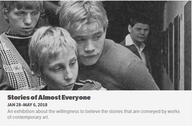 Hammer Museum - Stories of Almost Everyone - show flyer.JPG