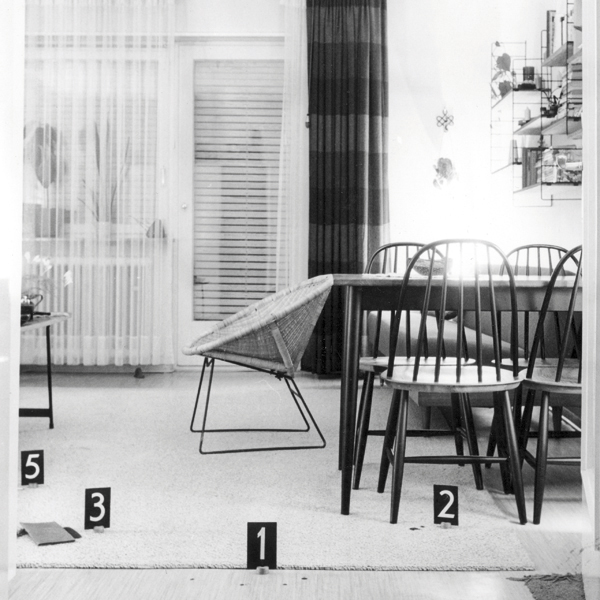 SPURENSUCHE  POLIZEIFOTOGRAFIE IN MANNHEIM 1946-1971 16.09.2007 - 06.04.2008