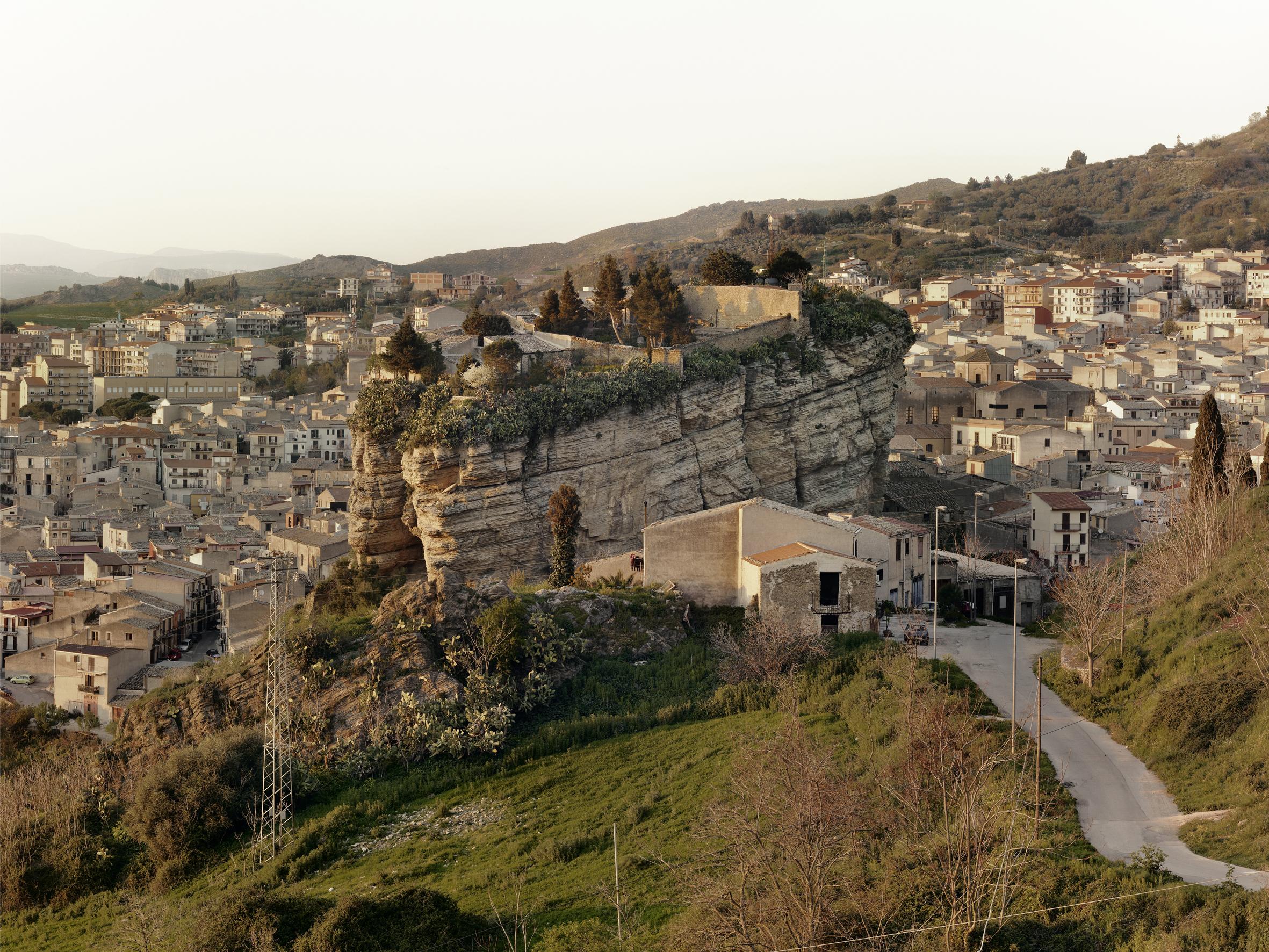 View of Corleone, Palermo, 2012