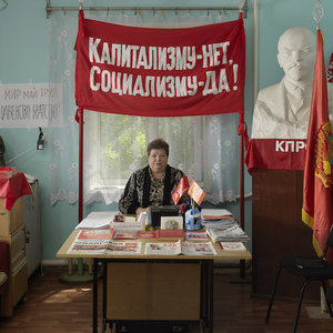 JAN BANNING   RED UTOPIA. Communism 100 years after the Russian Revolution  30.09.2018 - 13.01.2019