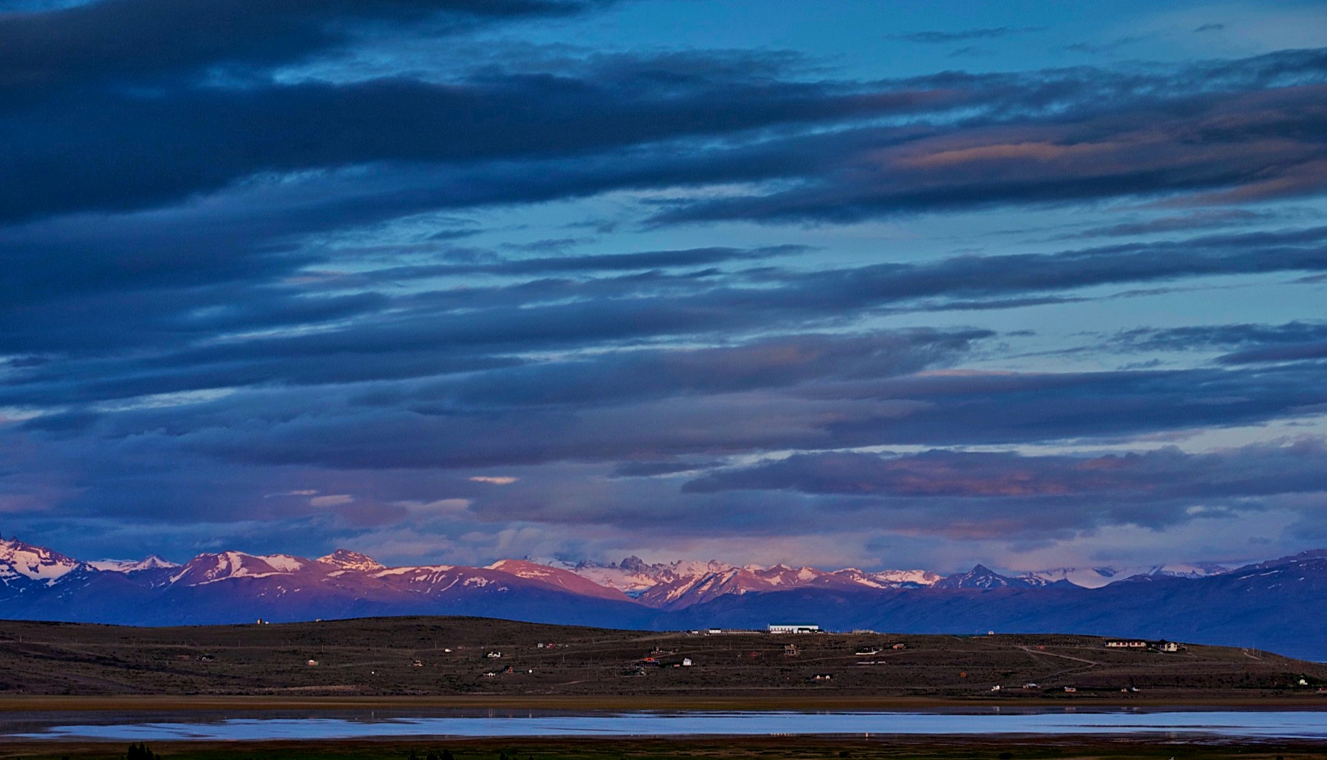 The Andes from El Calafate