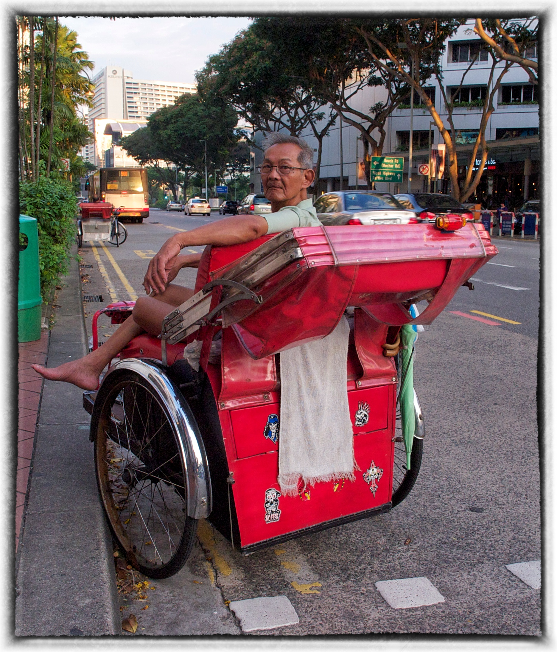 Bras Basah Trishaw May13 EP3/12mm