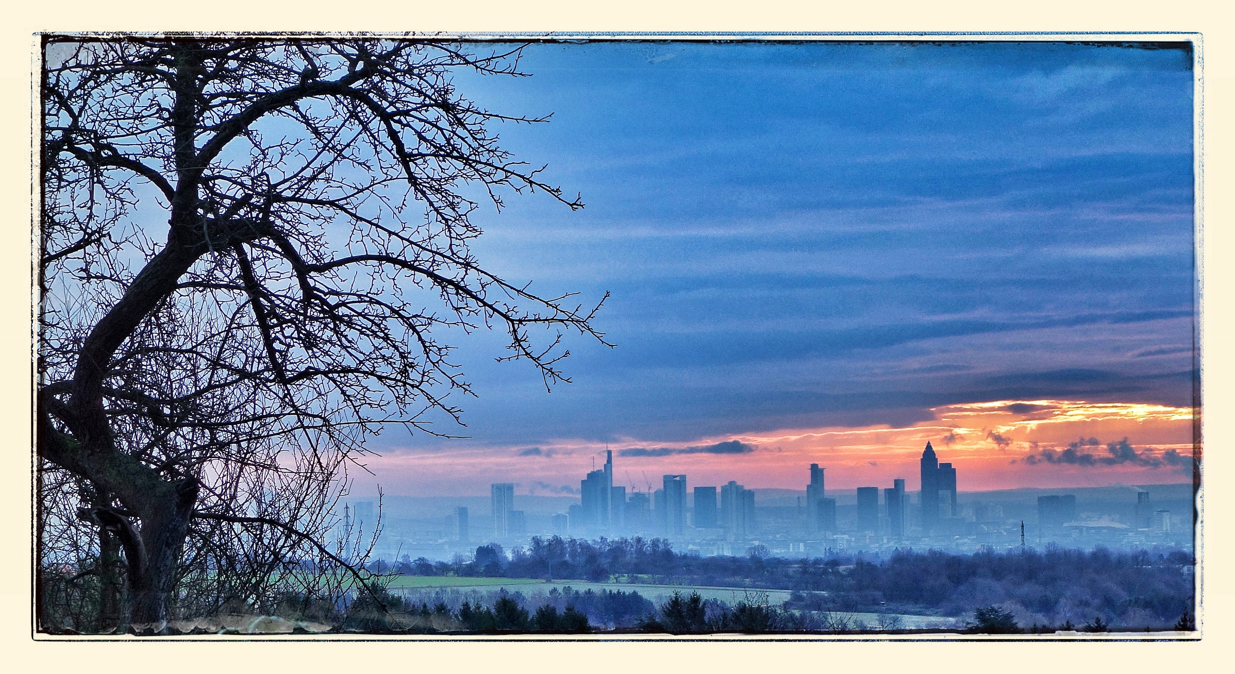 Frankfurt Skyline from Kronberg