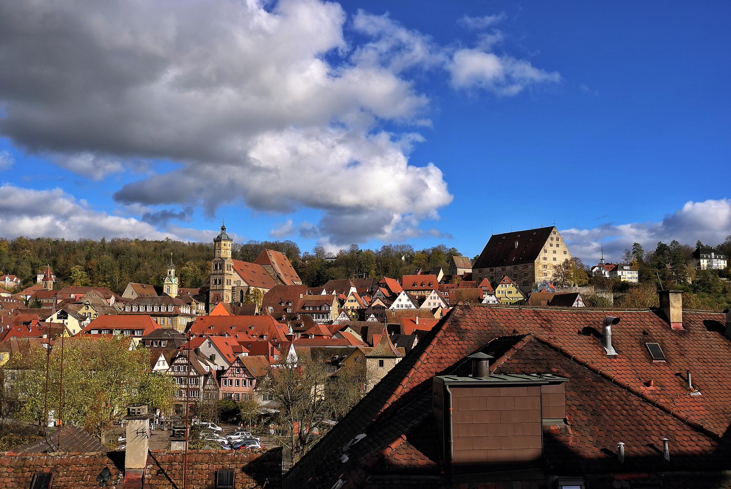 Rooftops,Schwäbisch Hall