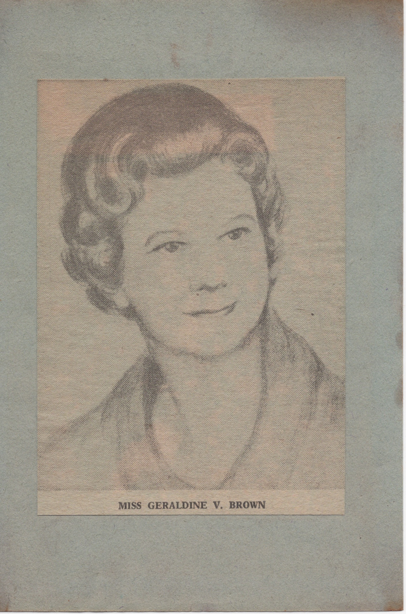 Geraldine V. Brown