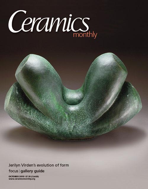 Ceramics Monthly October 2010