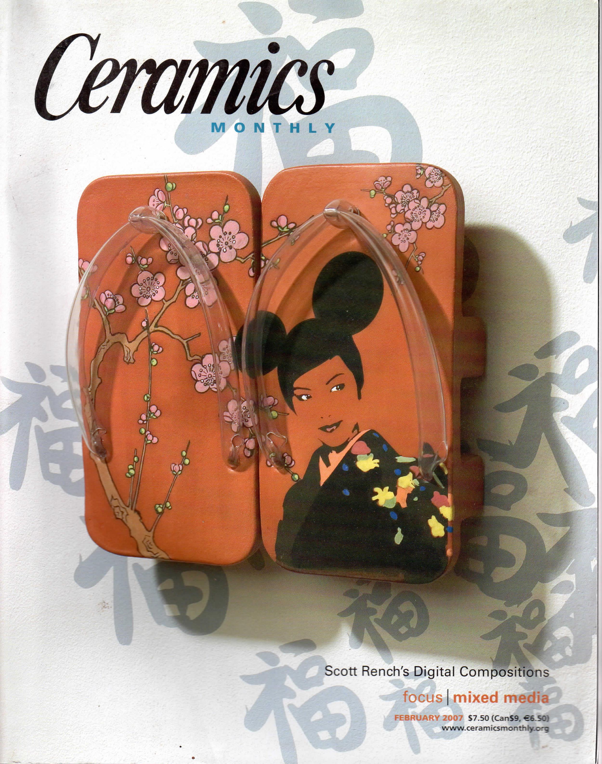 Ceramics Monthly Feb 2007