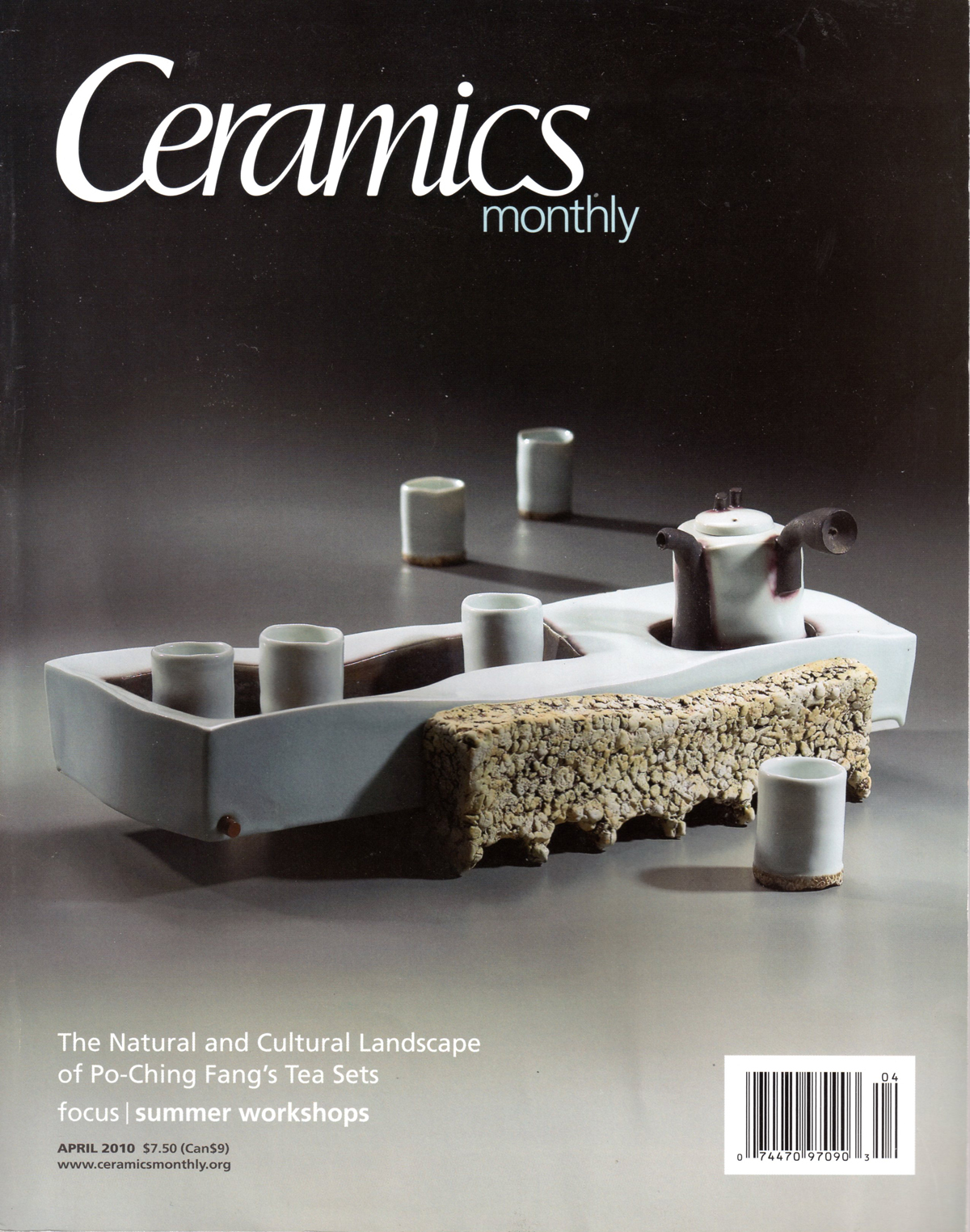 Ceramics Monthly April 2010