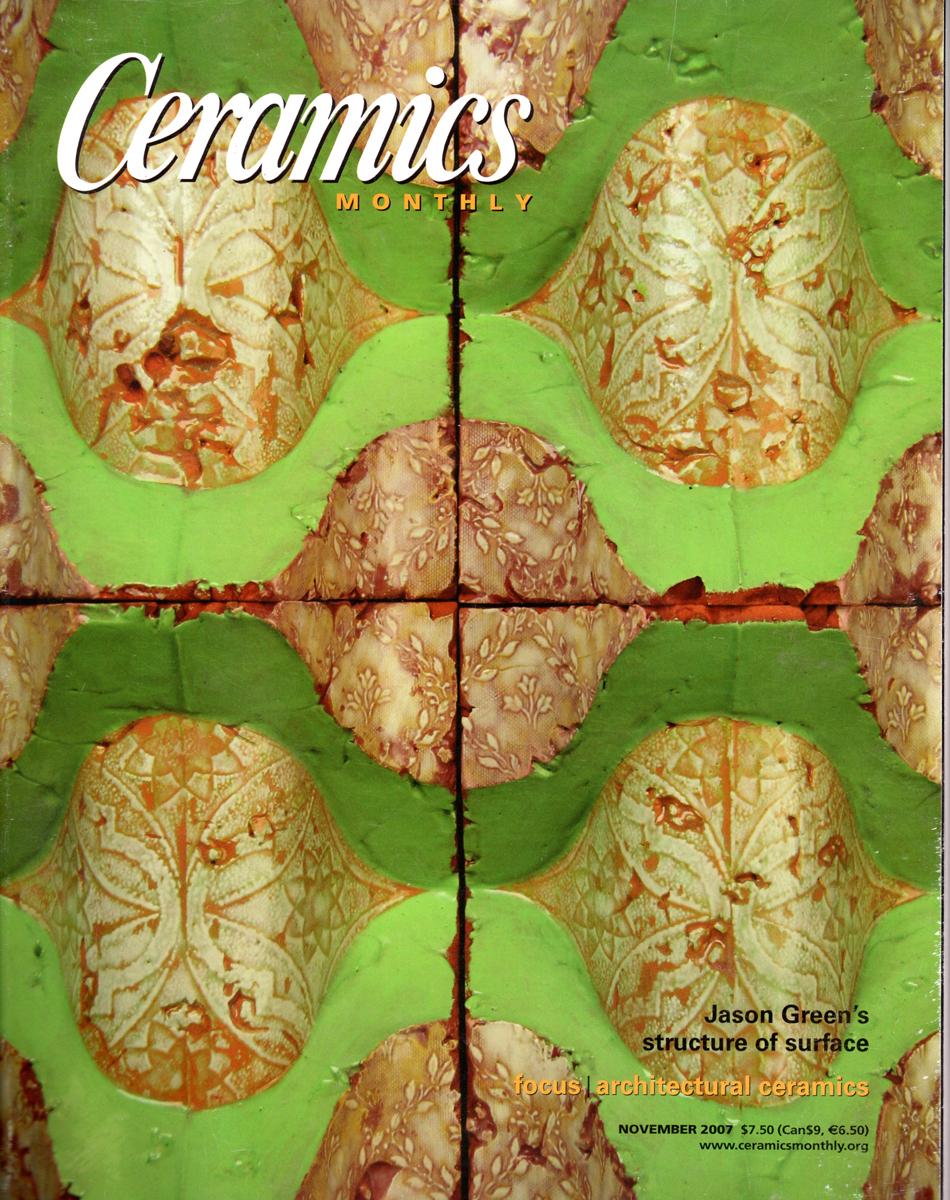 Ceramics Monthly November 2007