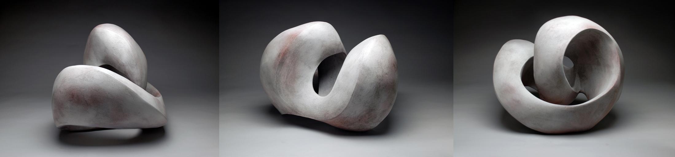 Perpetual Series (white glaze) 2014