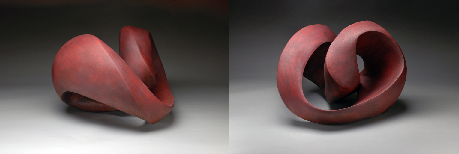 Perpetual Series (red glaze) 2014