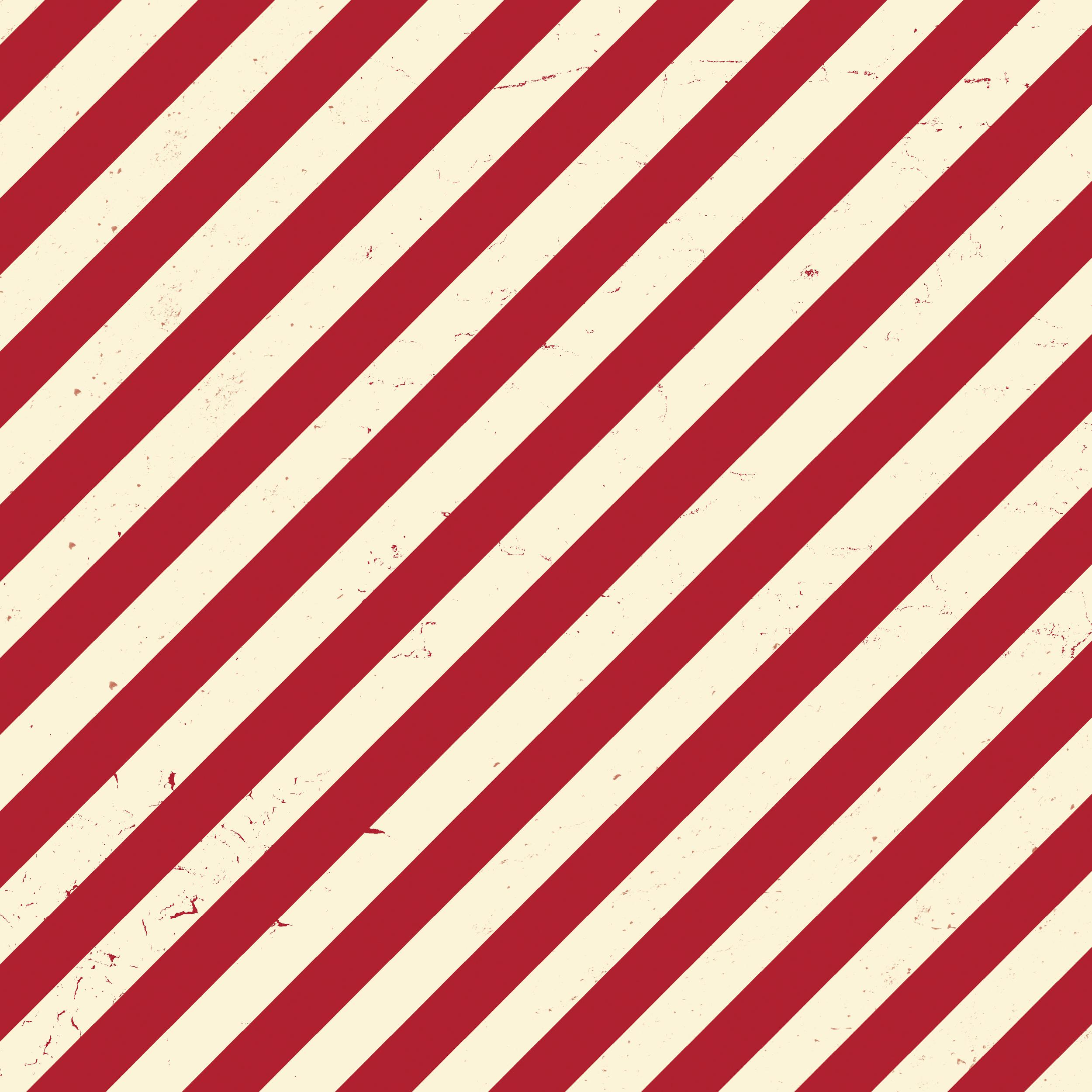 red & white diagonal