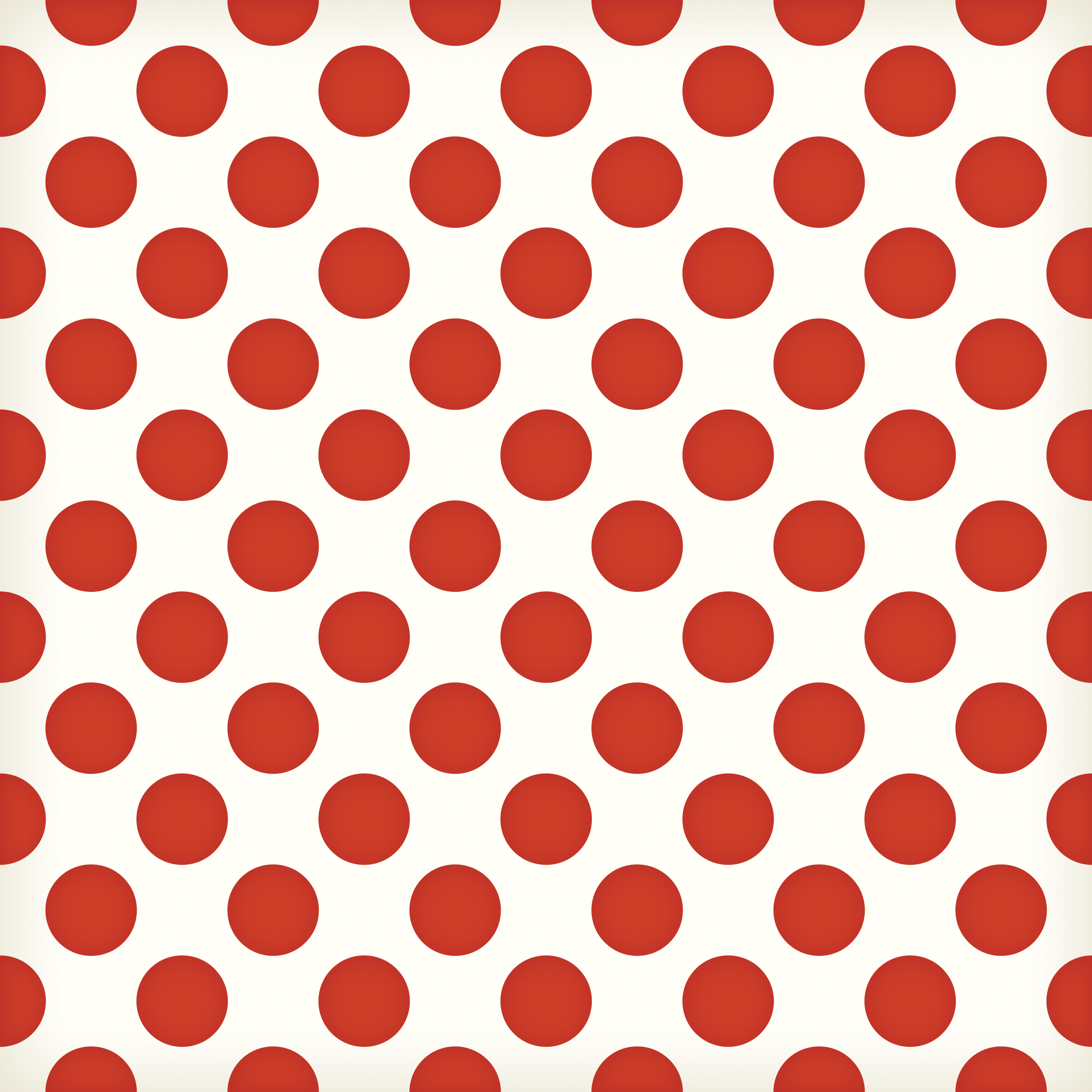 large red polka