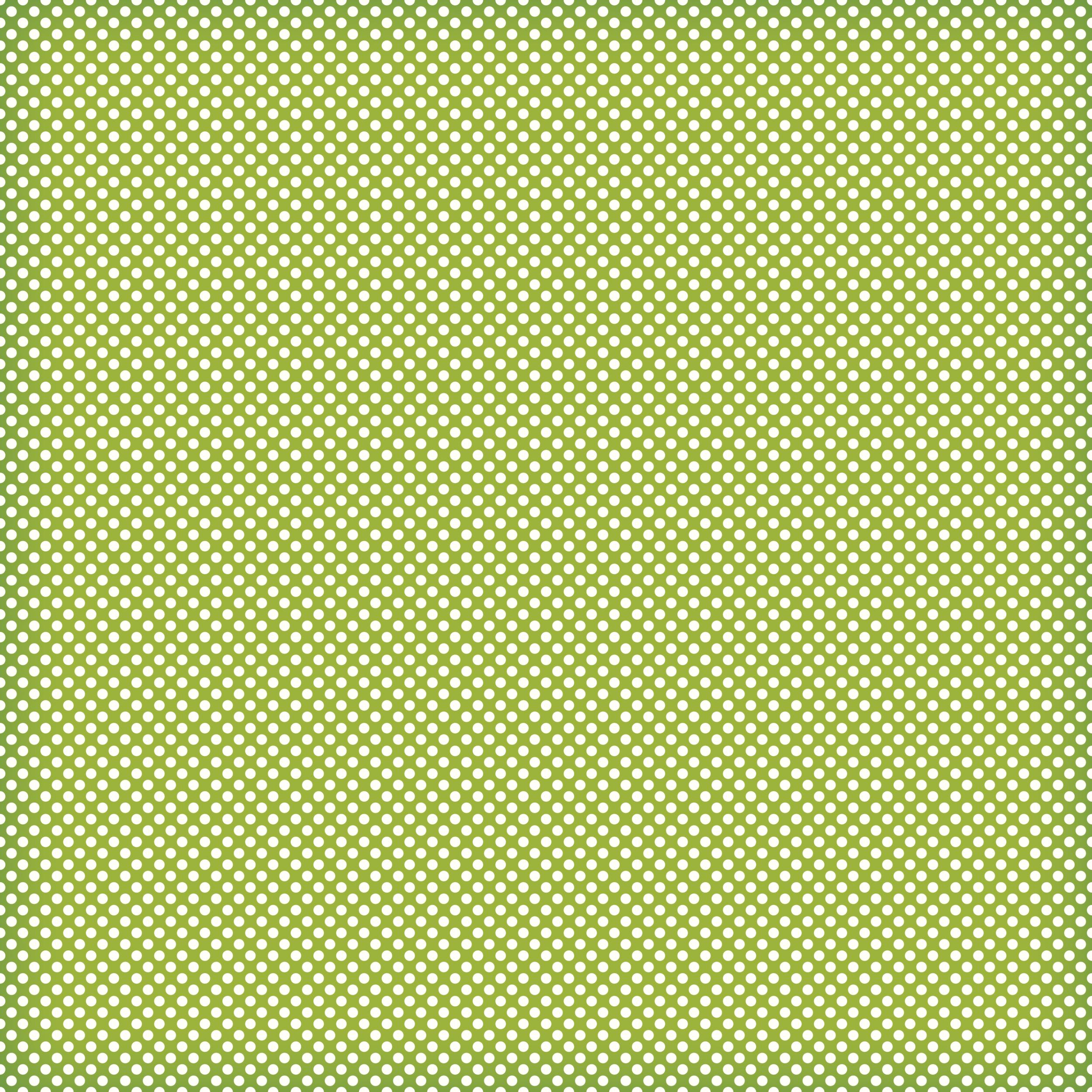 green mini polka