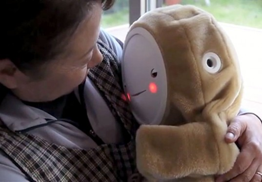 Babyloid Robot Aims to Combat Depression in the Elderly via SciTechDaily.com