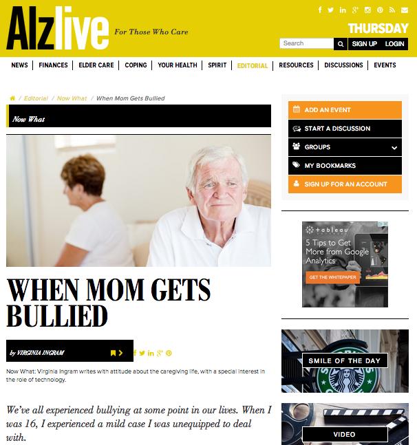 Alzlive.com - for those who care.