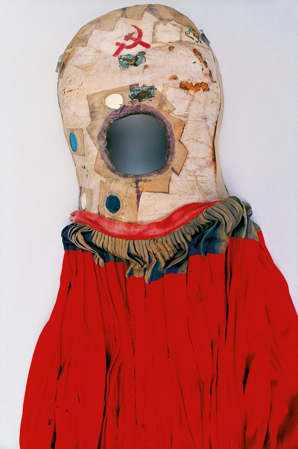 """Frida by Ishiuchi Miyako will be on display at the Michael Hoppen Gallery May 14 through July 12, 2015 in London . This is one of the pieces. From the description in   the Guardian  , """"After her bus accident, Kahlo was in a full body cast for three months, and she remained in pain for the rest of her life. She painted her casts and corsets, turning them from medical equipment into artworks."""""""