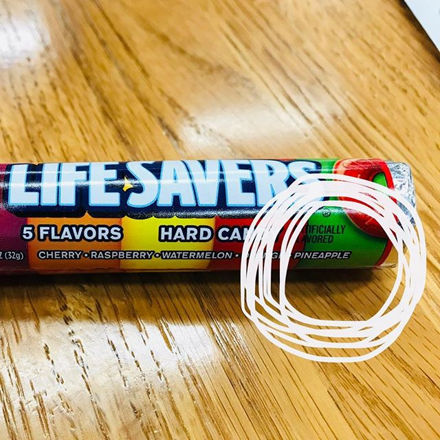 Is it a bad idea for me to eat 🍍Life Savers. It's called Life Saver, not Life Ender.
