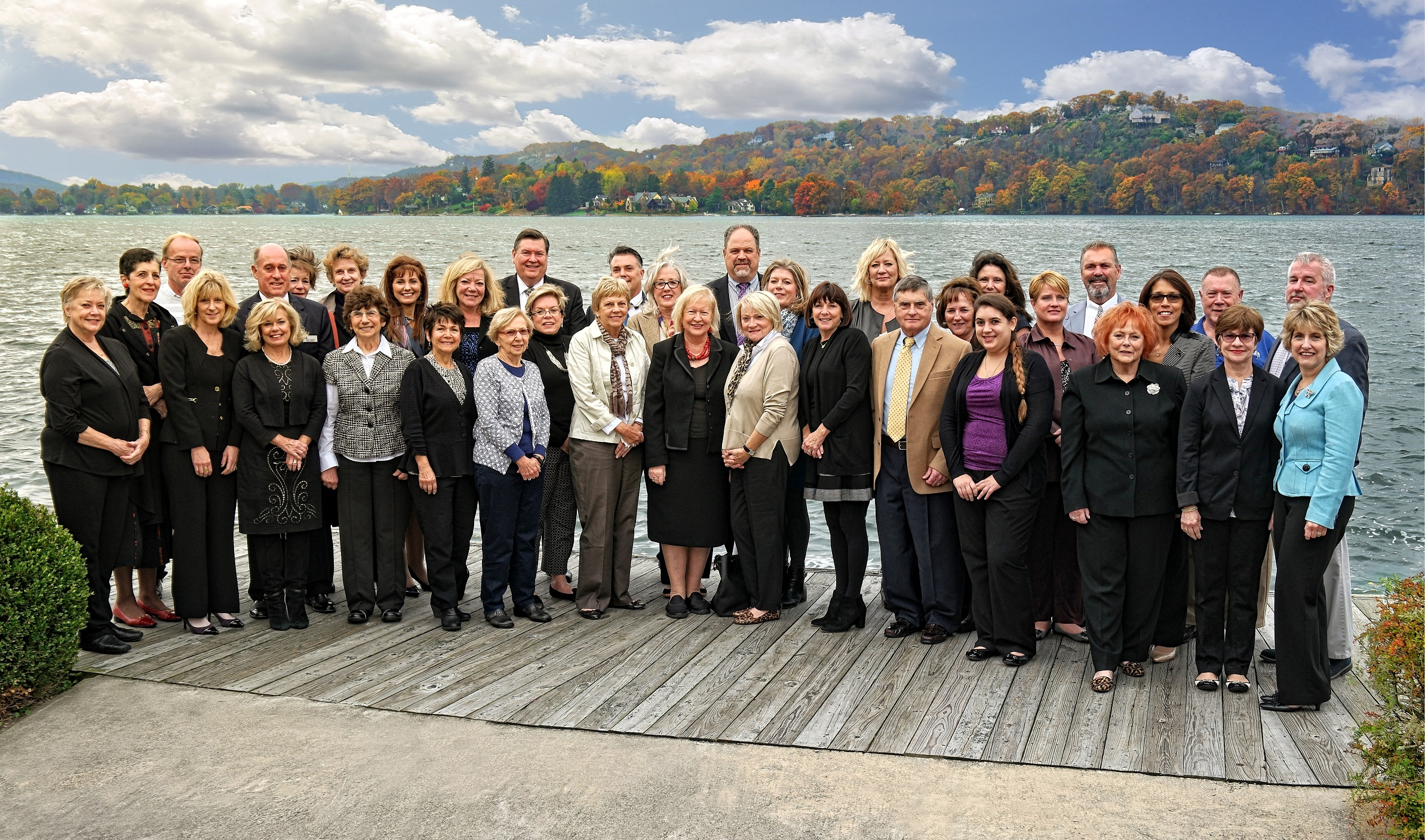 corporate group photo for coldwell banker in sparta, NJ