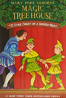 Magic Tree House #25 Stage Fright on a Summer Night