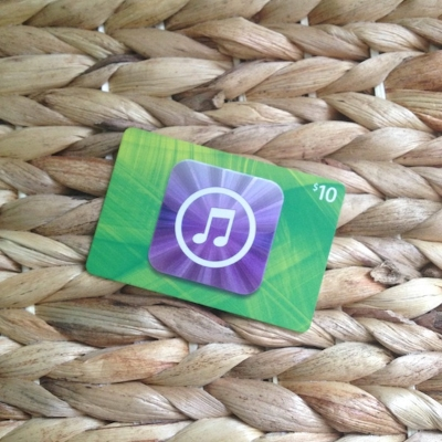 $10 iTunes gift card!