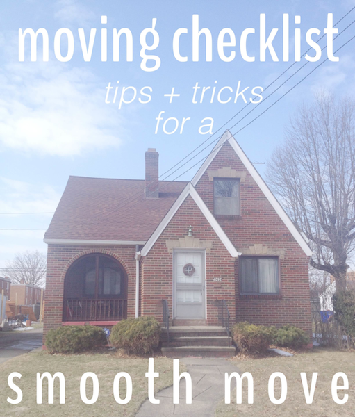 Rental Revival | Moving Checklist: Tips + Tricks for a Smooth Move
