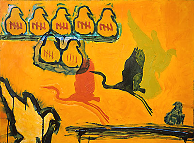 That's How You Know   2005   oil on canvas   30 x 40   $1900
