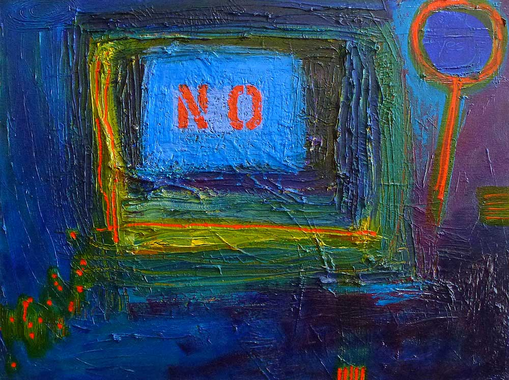 We Have to Figure Out How to Deal With Failures   2013 | oil on canvas | 18 x 24 | $775