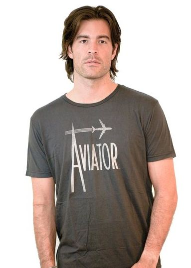 For the hipster:    Jacks & Jokers makes the coolest tees around. The designs are inspired by the historic art and imagery of the United States Playing Card Company (USPC). These tees are sure to please (celebs love them too)! Aviator Shirt shown here,$60