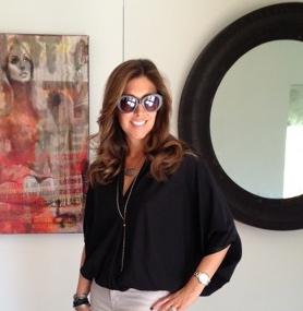 Jackie-O inspired sunglasses found in a Silver Lake boutique, $19.