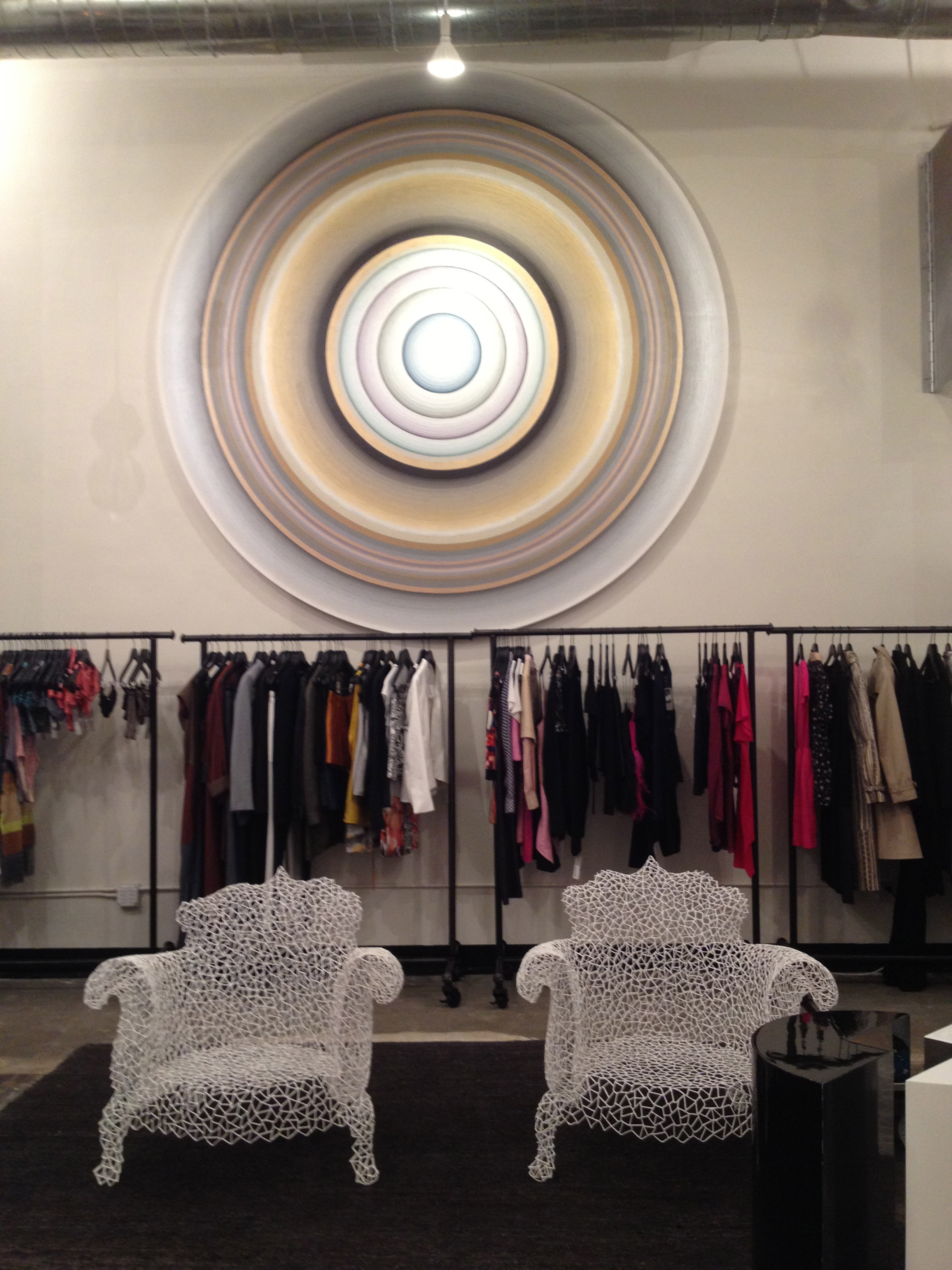 Inside the boutique!