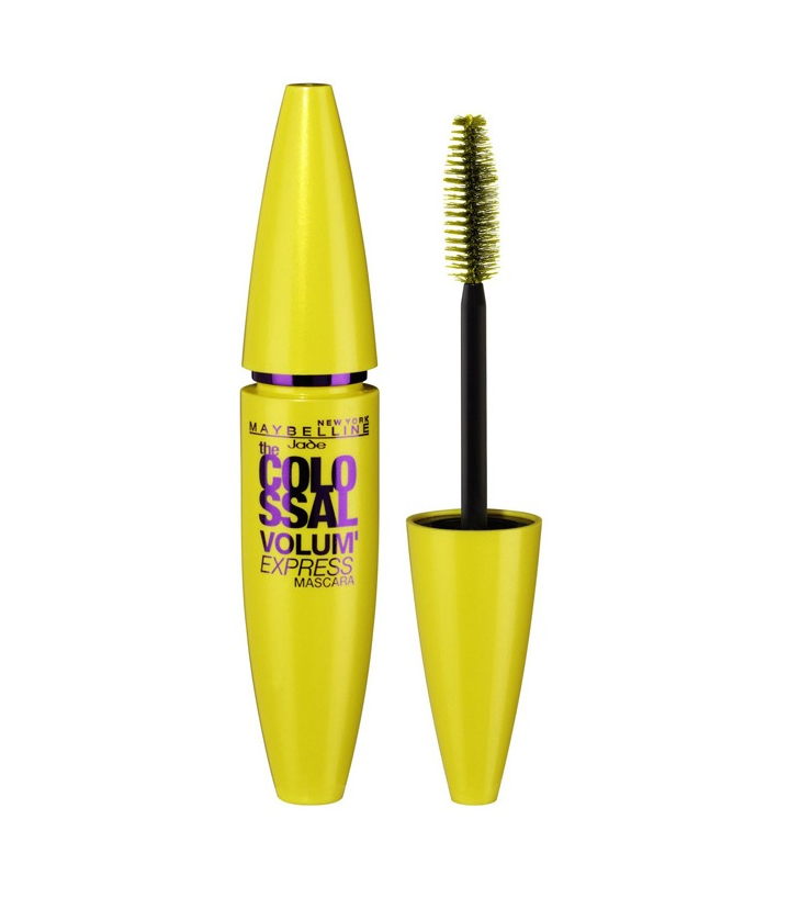 Maybelline Colossal Volum' Express  builds huge lash volume without any clumping. This mascara is awesome and it's so easy to apply!