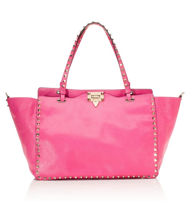 Valentino Rockstud Tote,  $2395.00. This bag is on my wish list. LOVE!