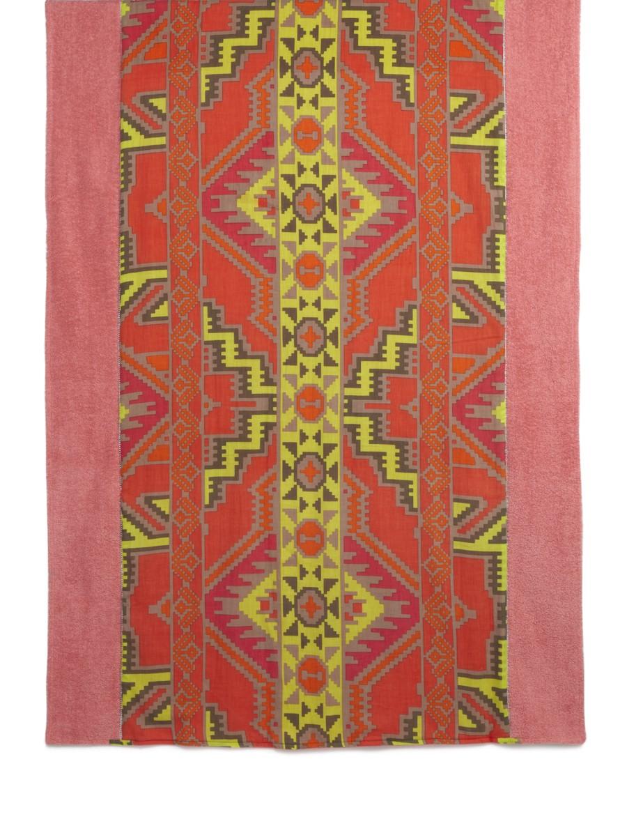 Coral Multi Chichen Itza beach towel, $150.