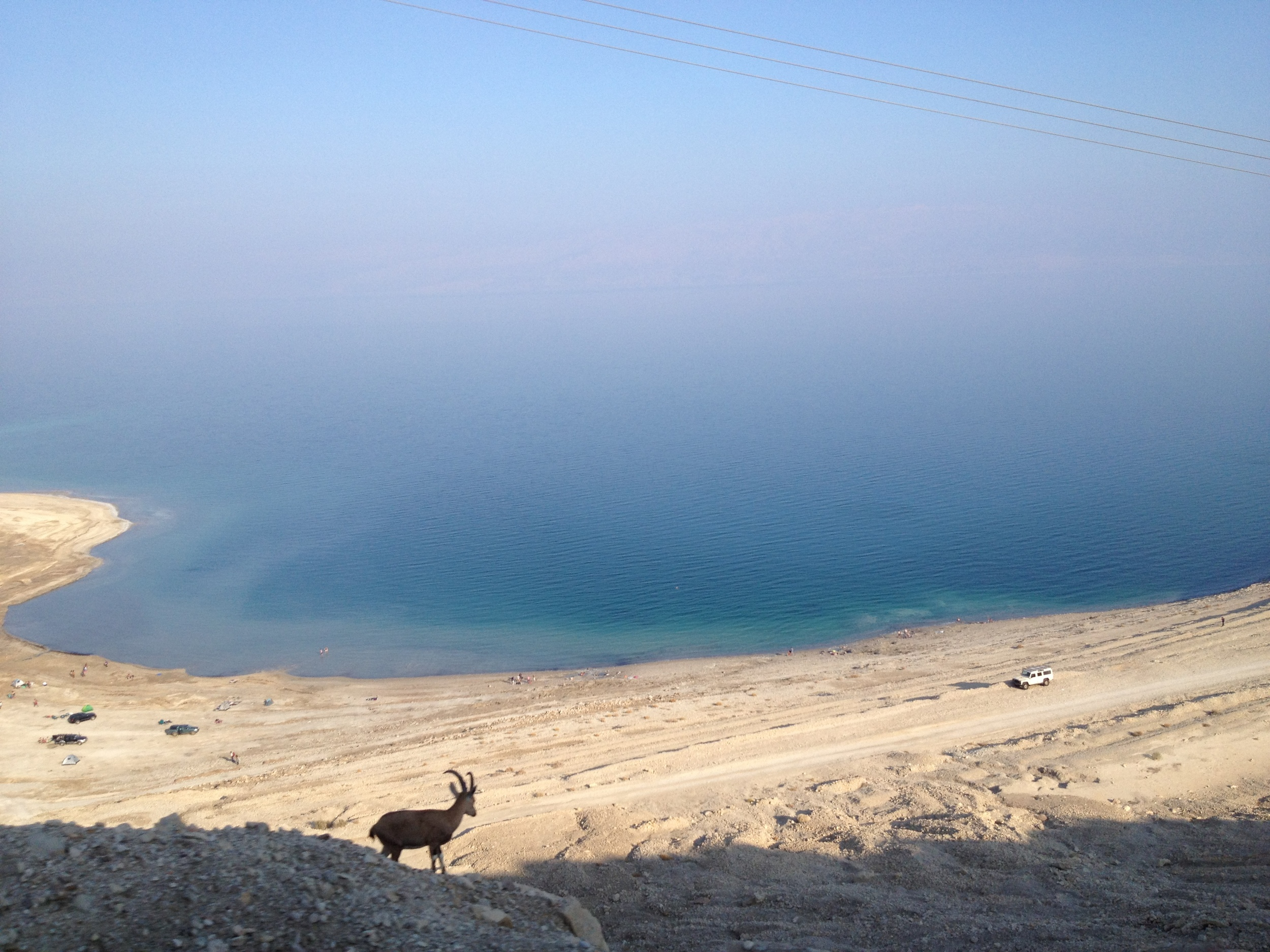 On the way to the Dead Sea, Israel, December 2012