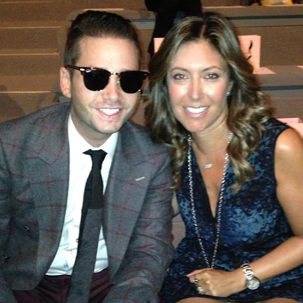 Sitting front row with Josh Flagg of Bravo's Million Dollar Listing LA.