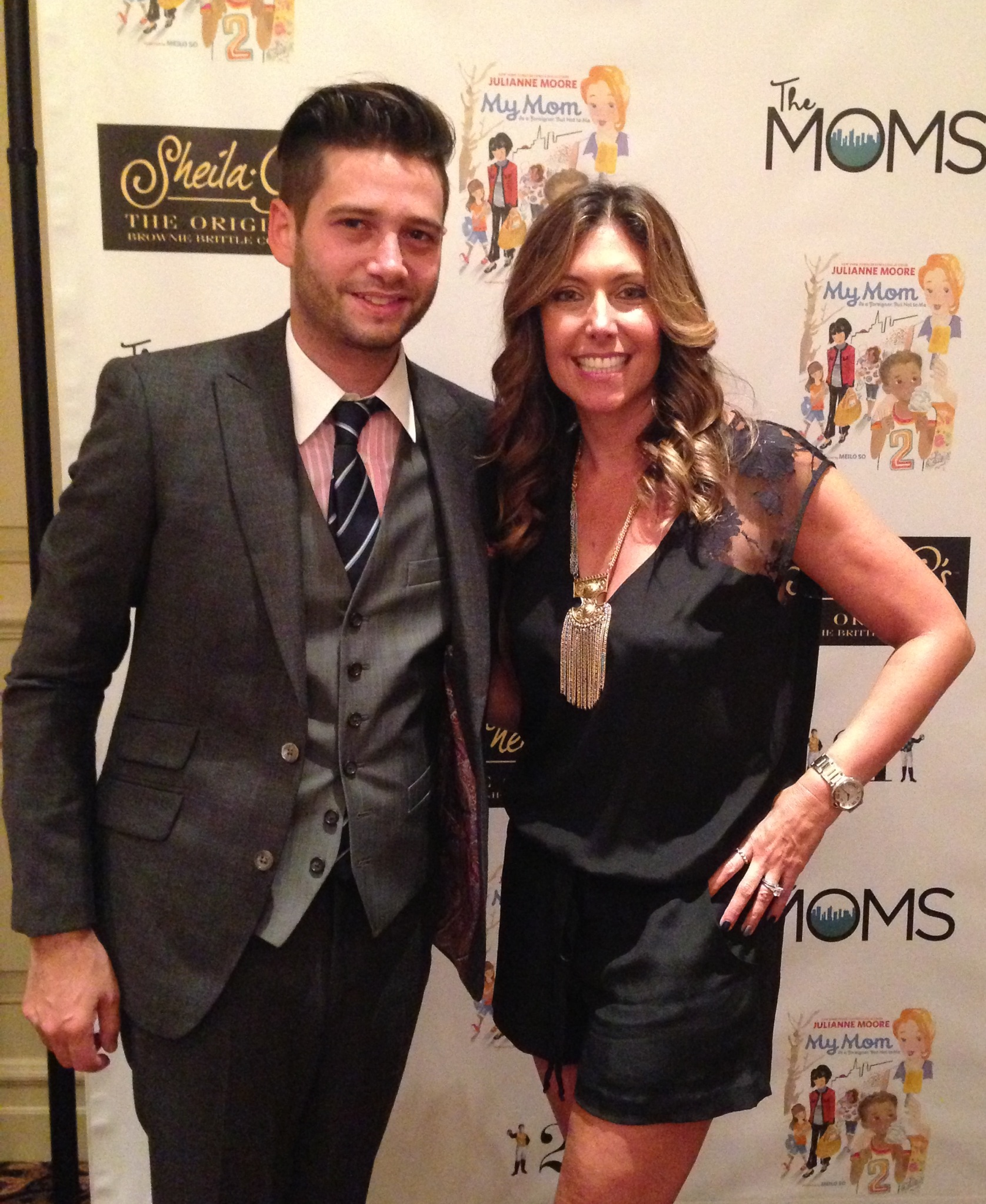 With my good friend and Bravolebrity Josh Flagg (Million Dollar Listing LA) who joined me for the event.