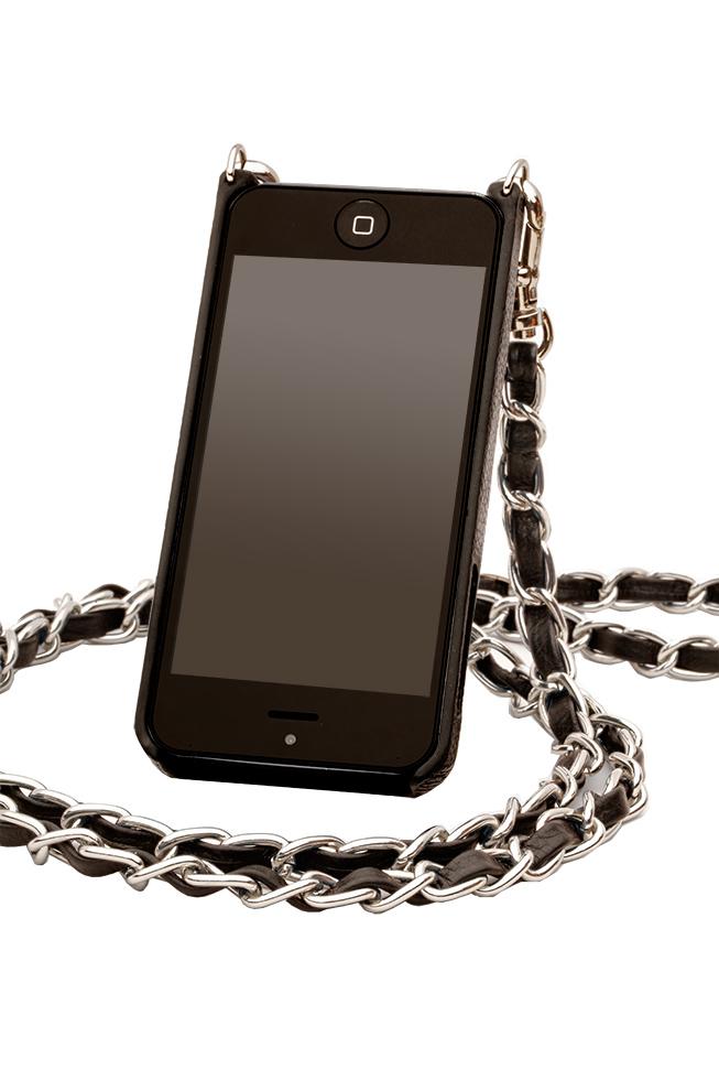 Bandolier LibbyiPhone Case & Chanel Chain Strap, $125