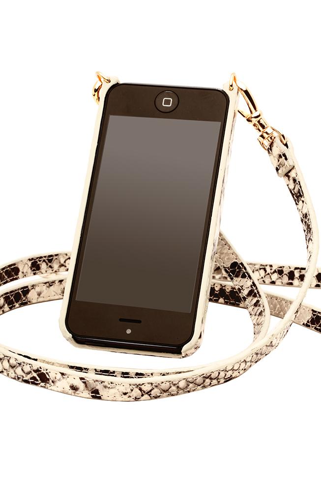 Bandolier Cynthia Snake iPhone Case & Strap, $125