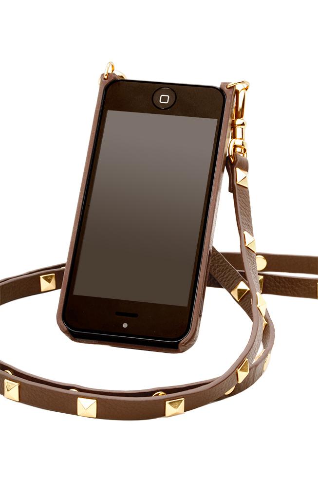 Bandolier Sarah iPhone Case & Studded Strap, $95