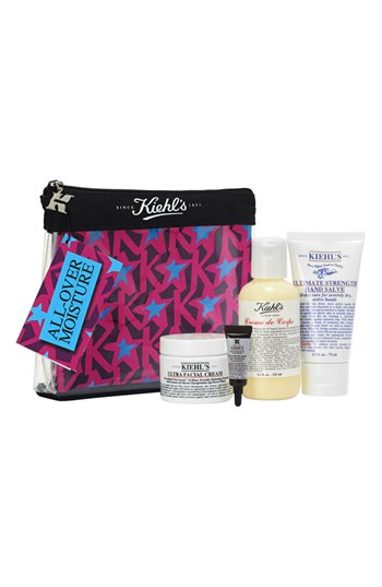 Nordstrom Exclusive: Kiehl's since 1851 Face & Body Set, $33.00 ($66 value)    Set includes:     Crème de Corps body cream (4.2 oz.)  ,   Ultra facial cream (1.7 oz.)  ,   Hand salve (2.5 oz.)  ,   Deluxe sample Powerful Strength line-reducing concentrate (0.17 oz.)