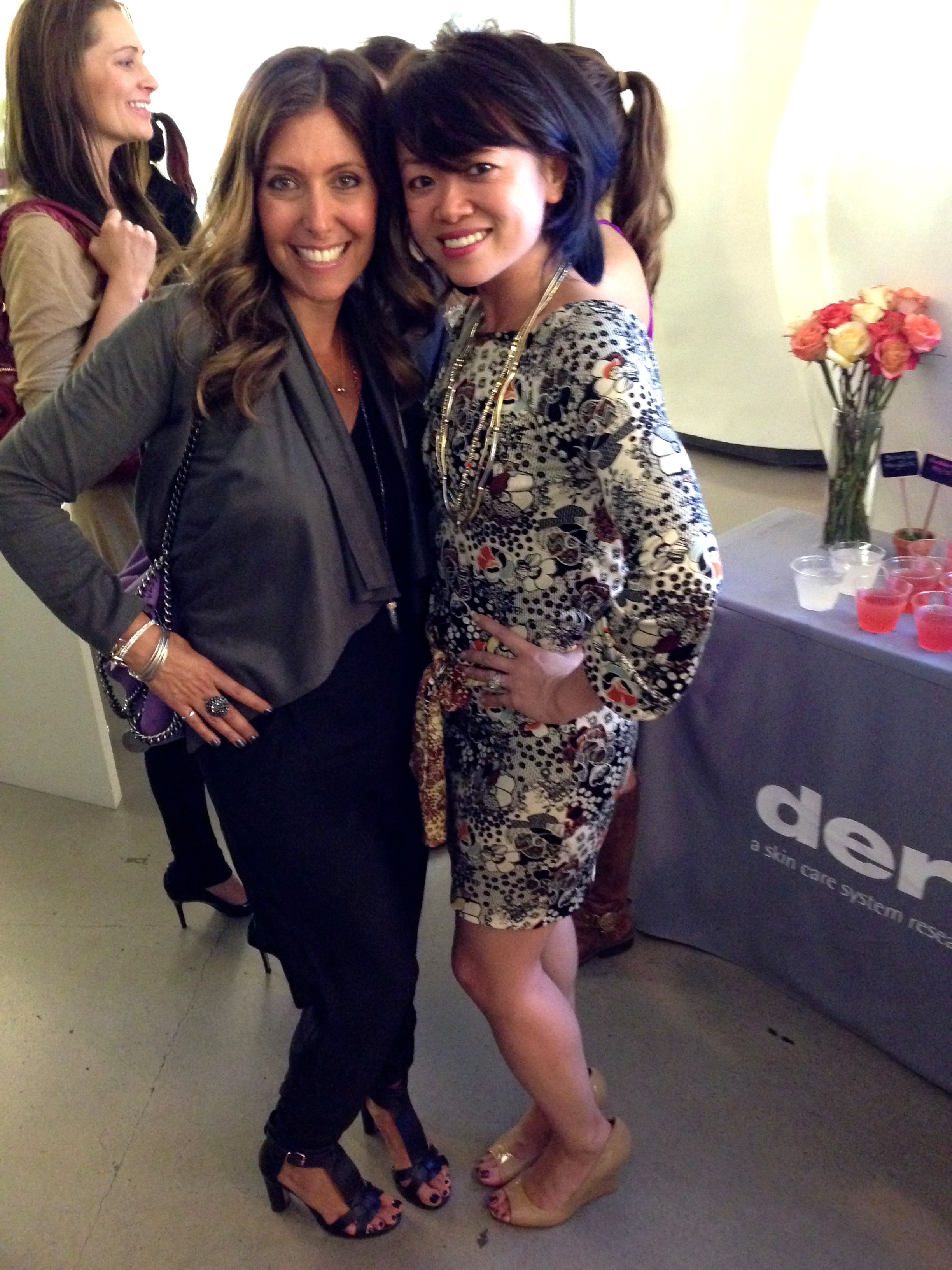 With leadership and lifestyle expert Claudia Chanat the  women's empowerment and networking event held at Dermalogica in Santa Monica.