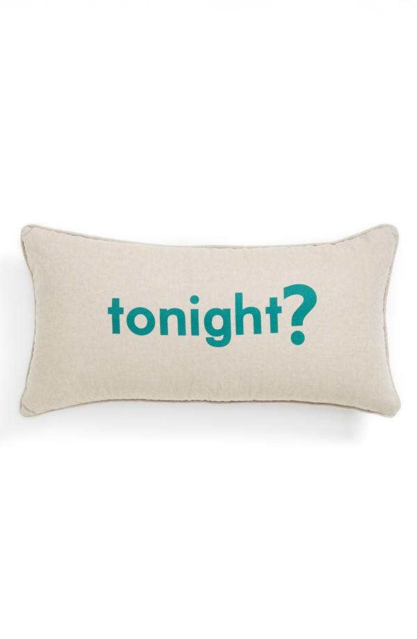 Levtex 'Tonight/Not Tonight' Pillow, $29.
