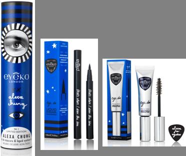 Shop:  Alexa Chung for Eyeko Limited Edition Eye Do Mascara & Liquid Eyeliner Set, $39 at Sephora.