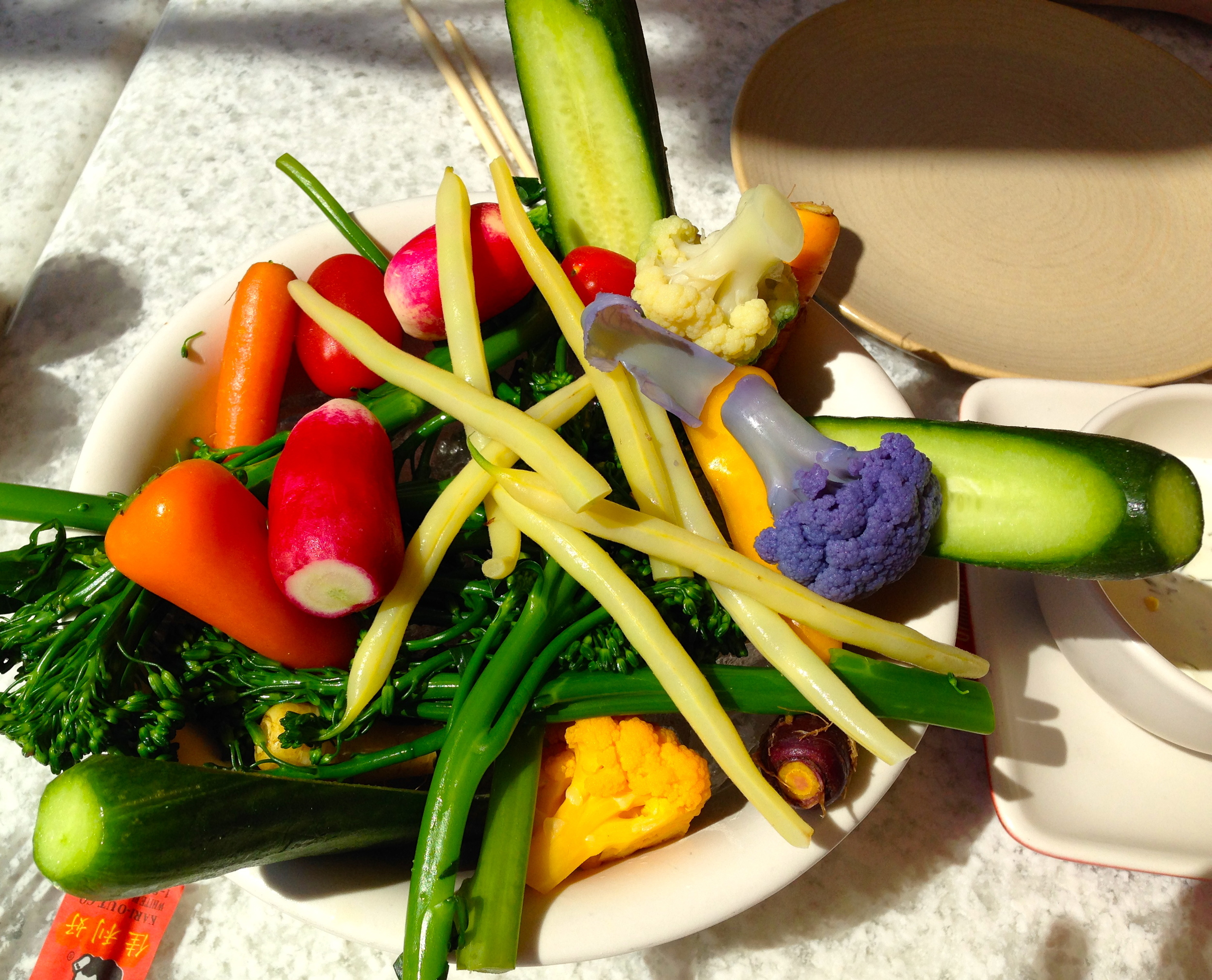 Crudite from True Food Kitchen, Santa Monica.