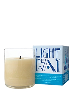 Aveda Light the Way candle, $12