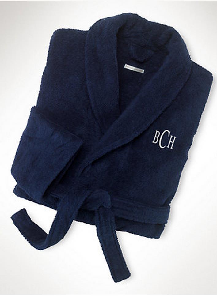 Ralph Lauren personalized bathrobe, $66